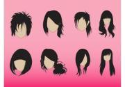 dreadlocks hairstyle vector