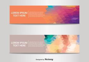 Abstract Banner Templates vector