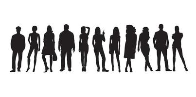 People Silhouette Free Vector Art 30 219 Free Downloads