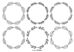 Leaf Circle Free Vector Art 39 855 Free Downloads