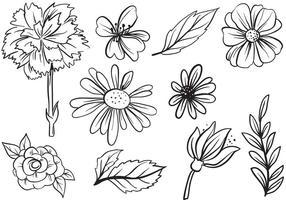 flowers free vector art