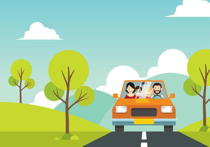 Familia Vacation Cartoon Free Vector Download Free Vectors Clipart Graphics Vector Art
