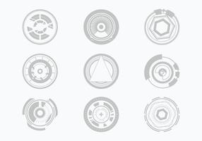 Free Technology Theme Background Vector