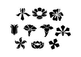Flower Silhouette Free Vector Art 2 363 Free Downloads
