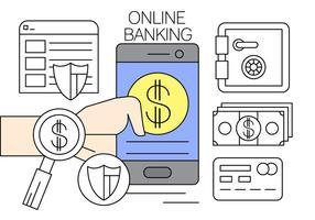 Internet Banking Free Vector Art 1 991 Free Downloads