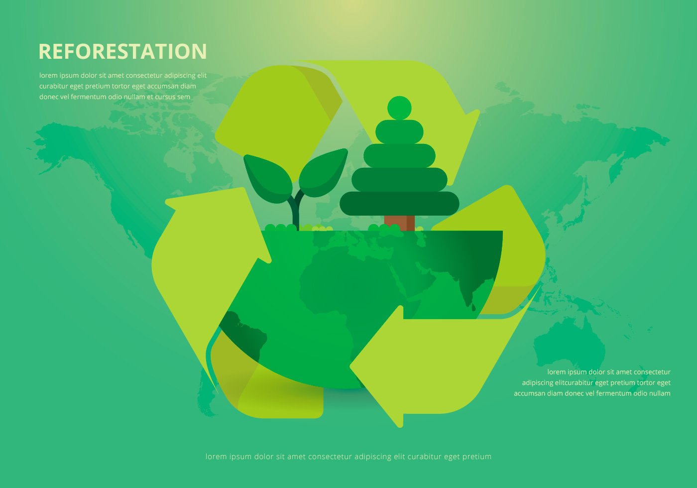 hight resolution of reforestation download free vector art stock graphics images