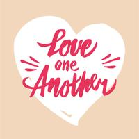 Download Love is the Answer Hand Lettering Vector - Download Free ...