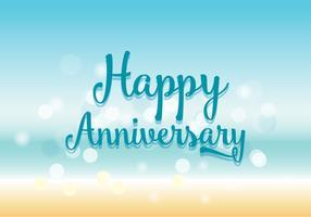 happy anniversary free vector