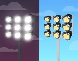 Stadium Lights Free Vector Art  12380 Free Downloads
