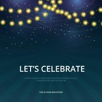invitation template free vector