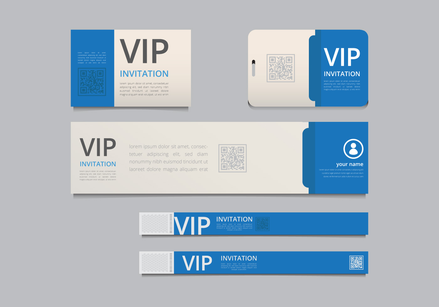 hight resolution of vip pass id card template vip pass for event template realistic blank vertical id with purple ribbon mockup download free vector art stock graphics