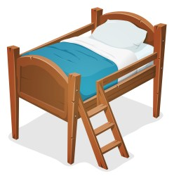 Wood Bed With Ladder Download Free Vectors Clipart Graphics & Vector Art