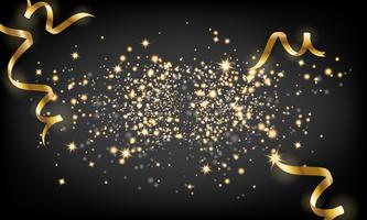 https www vecteezy com vector art 270849 golden sparkle particle and falling ribbon background vector il
