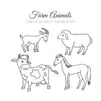 hand drawn animal free