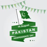 pakistan flag free vector