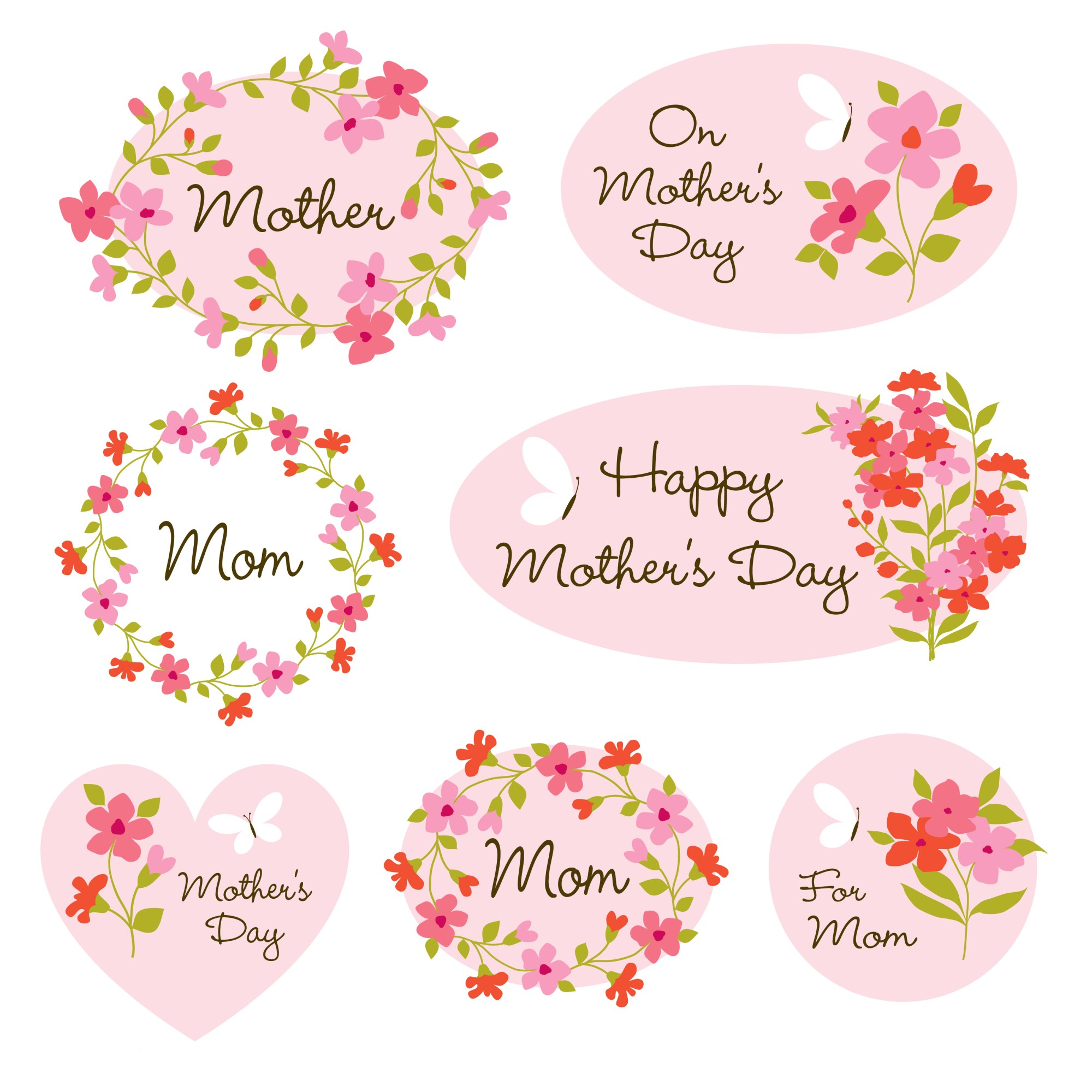 hight resolution of mothers day clipart graphics