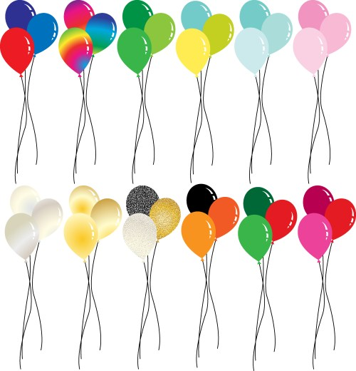 small resolution of holiday balloon clipart download free vector art stock graphics images