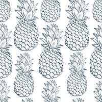 Pineapple Silhouette Free Vector Art 31 Free Downloads