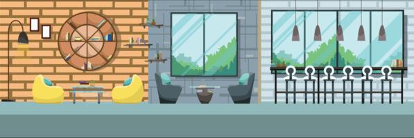 Restaurant Interior Free Vector Art 285 Free Downloads