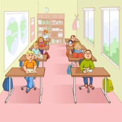 Children In School Cartoon Illustration Download Free Vectors Clipart Graphics & Vector Art