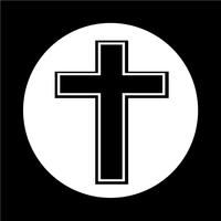 catholic cross free vector