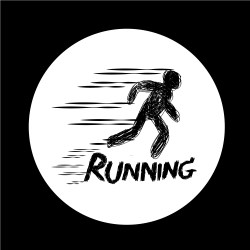 Sign of Running icon Download Free Vectors Clipart Graphics & Vector Art