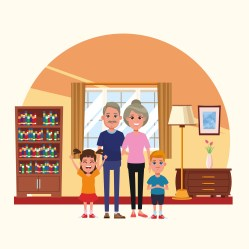 Family inside home scenery cartoons Download Free Vectors Clipart Graphics & Vector Art