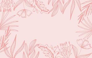 Pink Floral Background Free Vector Art 4 160 Free Downloads