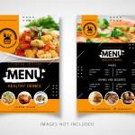 Black And Yellow Restaurant Flyer Download Free Vectors Clipart Graphics Vector Art