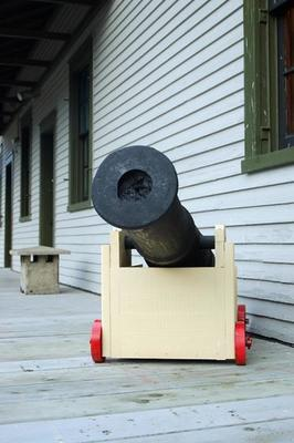 Toy Cannon That Shoots : cannon, shoots, Cannon, 1375784, Stock, Photo