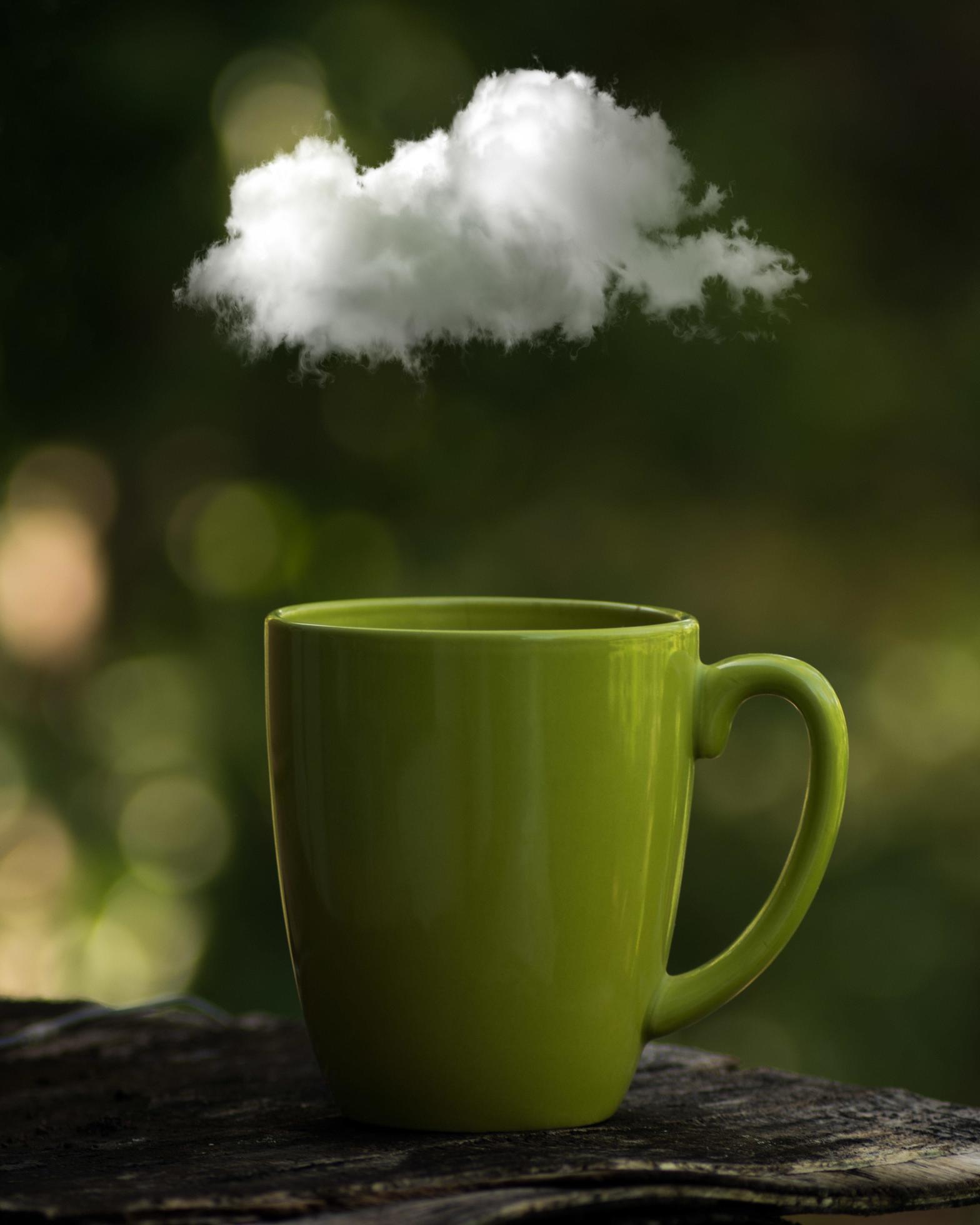 Le Nuage Dans La Tasse : nuage, tasse, Nuage, Tasse, Café, 1233447, Banque, Photos