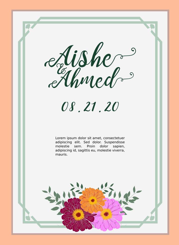 https fr vecteezy com art vectoriel 1213662 modele carte invitation mariage avec fleur amarillys