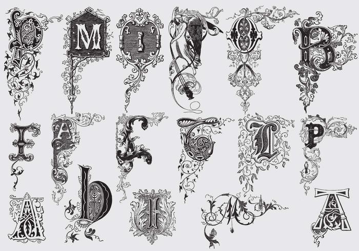 https fr vecteezy com art vectoriel 126222 lettres majuscules avec decor acanthus