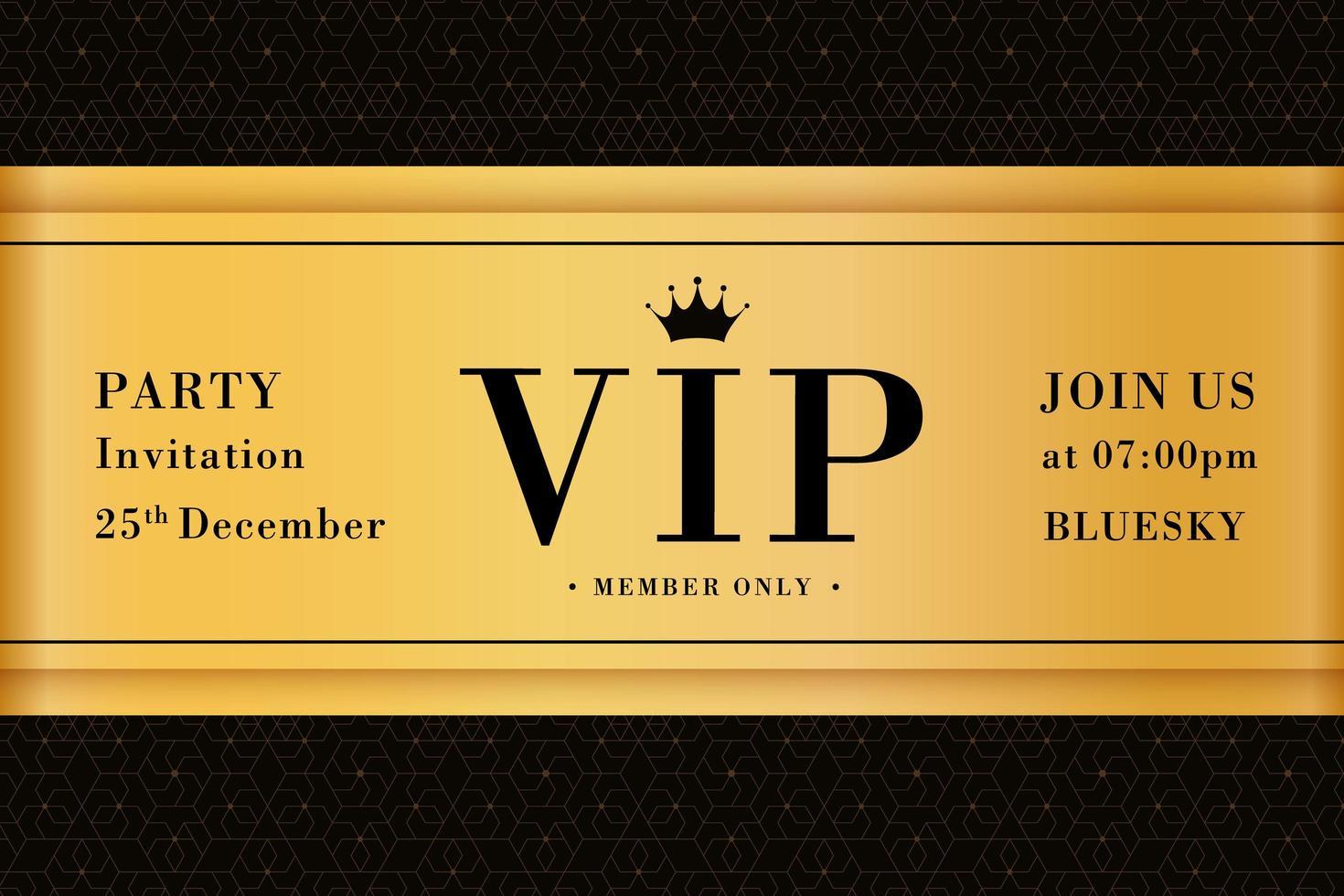 https fr vecteezy com art vectoriel 1950019 vip party premium invitation card poster flyer