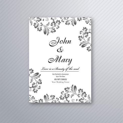 https fr vecteezy com art vectoriel 305564 vecteur de conception de carte d 39 invitation mariage floral decoratif