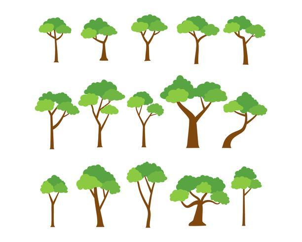 https fr vecteezy com art vectoriel 538563 collection de vecteur d 39 arbres sur fond blanc