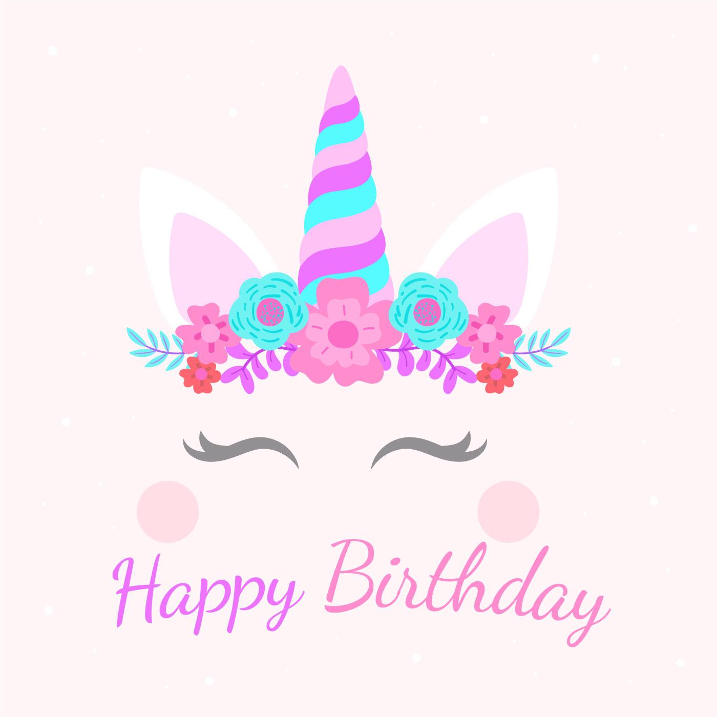 joyeux anniversaire licorne 545526