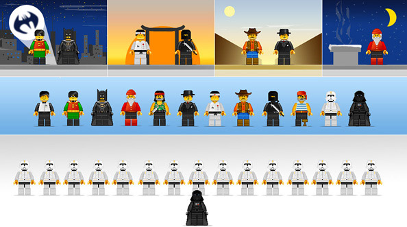 12 Free Lego Character Illustrations Preview Big