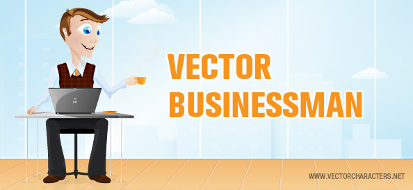 Vector Business Man