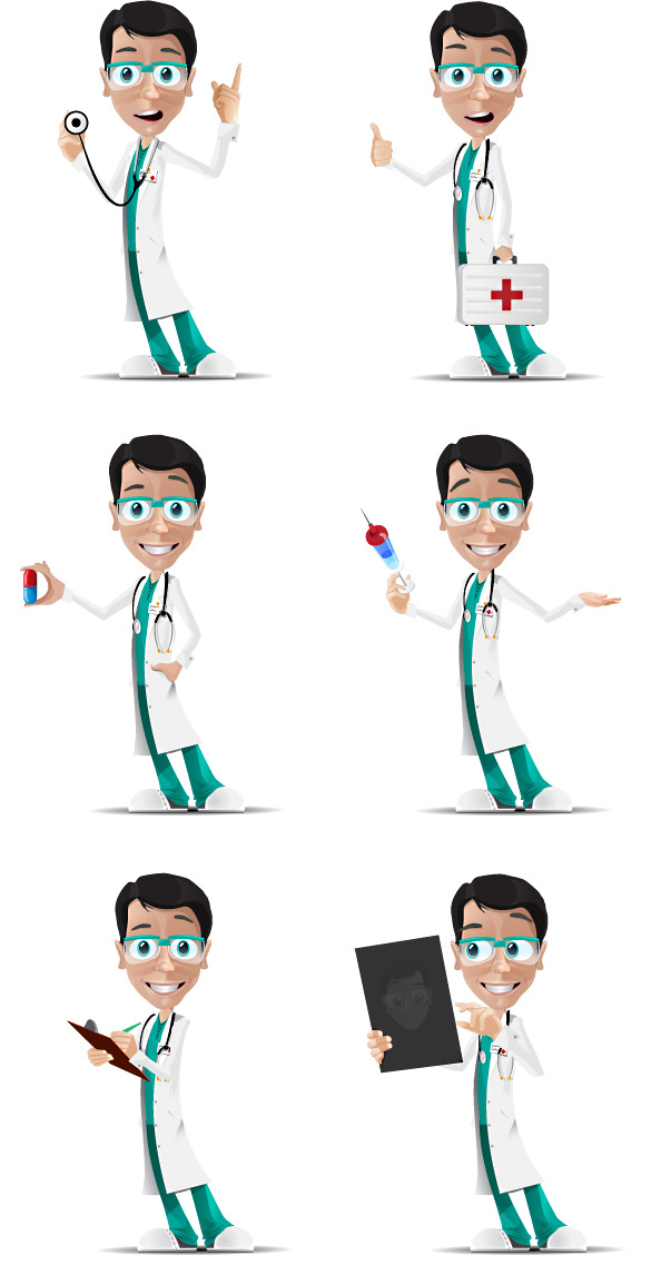 Doctor Vector Character Preview