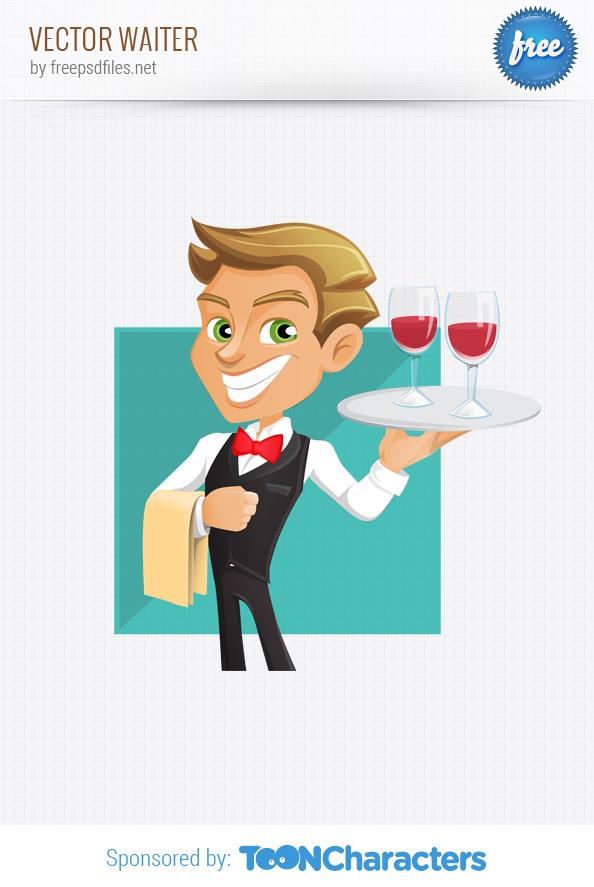 vector waiter