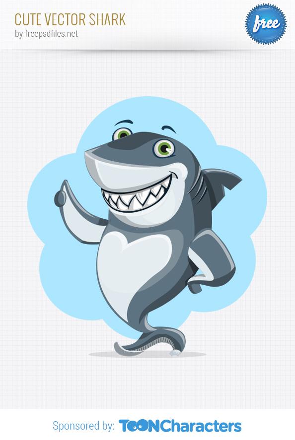 Cute Vector Shark