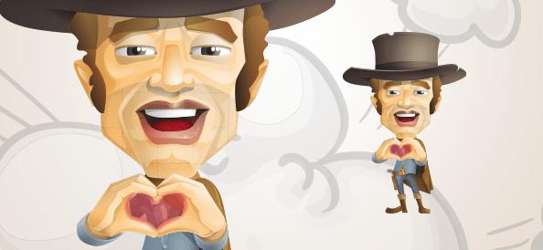 Cowboy Showing Love