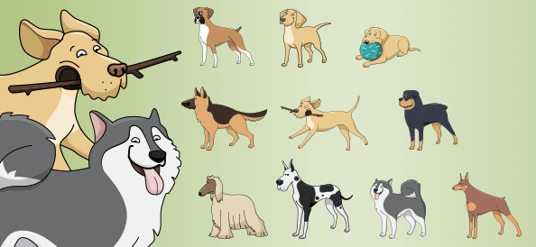 Vector Dogs vol.4