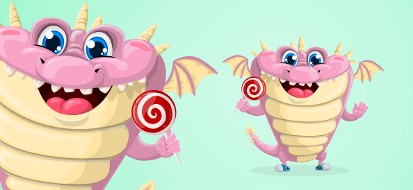 Cute Chubby Dragon