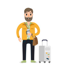 Travel_Character_Vector_Set