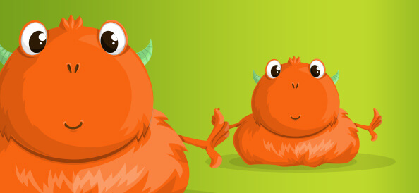Free Vector Monster Illustration