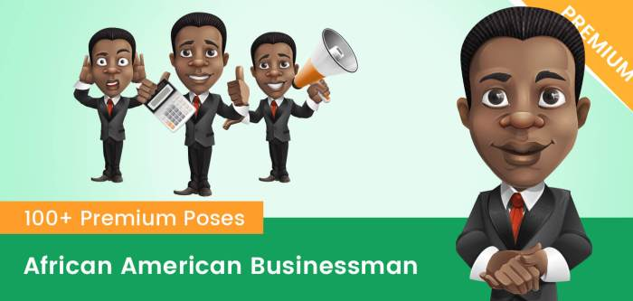 African American Businessman Clipart