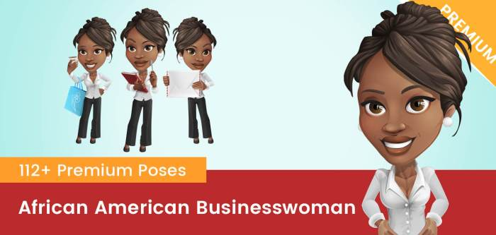 African American Businesswoman Clipart