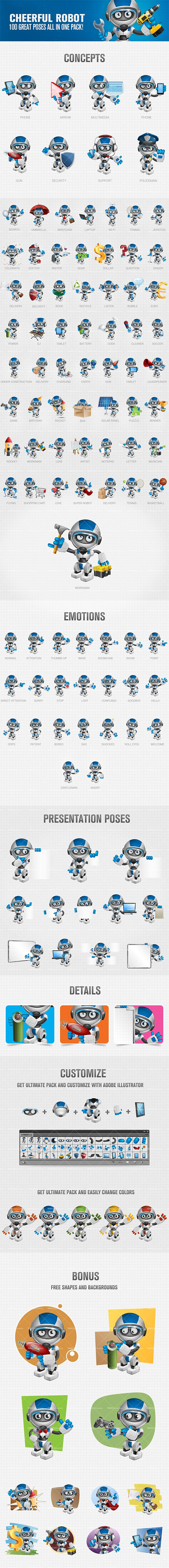 Artificial intelligence Vector Character